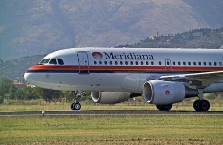 cancellato volo meridiana