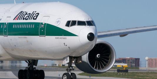 Aereo Alitalia in Ritardo guasto tecnico