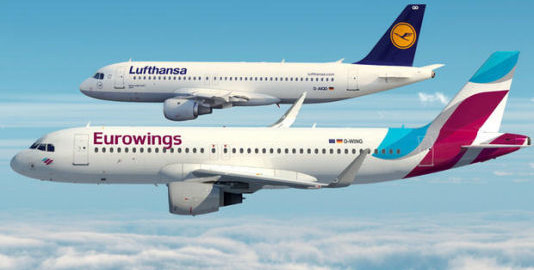 Lufthansa Eurowings wifi onboard