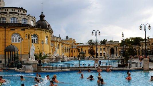 Terme Szecheniy Budapest