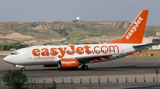 EasyJet voli in ritardo