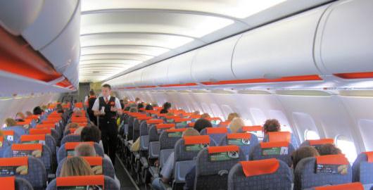 interno aereo Easyjet