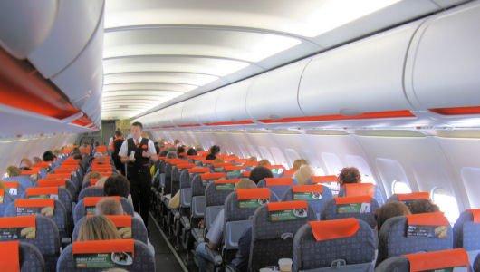 Easyjet cabin