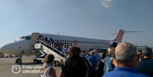 aerei in ritardo voli cancellati