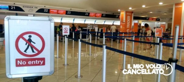 negato imbarco overbooking