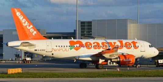 Easyjet Napoli